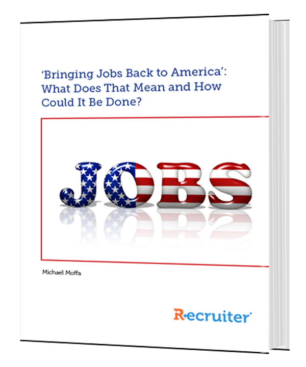 'Bringing Jobs Back to America': What Does That Mean and How Could It Be Done?