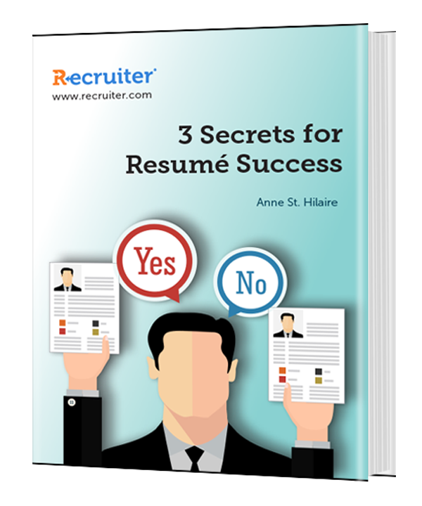 3 Secrets for Resume Success