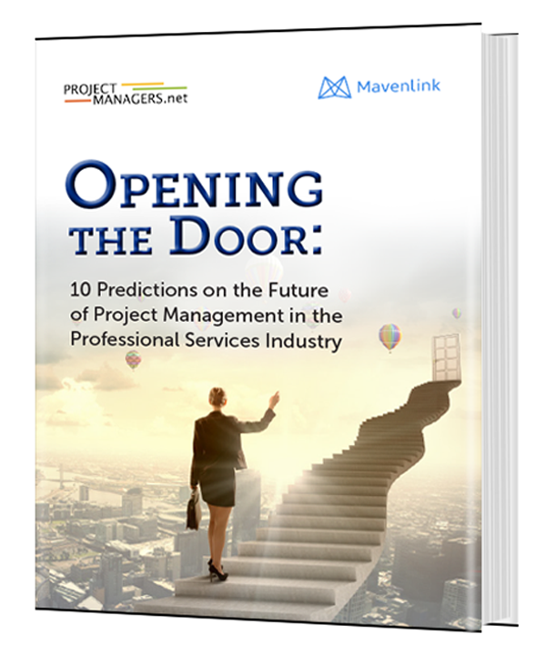 Opening the Door: 10 Predictions on the Future of Project Management in the Professional Services Industry